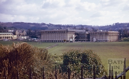 View across the Recreation Ground, April 1975