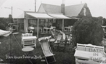 Glass House Gardens, Combe Down c.1920s