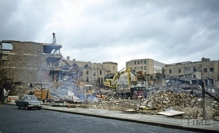 Southgate Street, Bath demolition Nov 1971