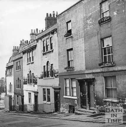 Artisan's cottages in Morford Street, March 1972