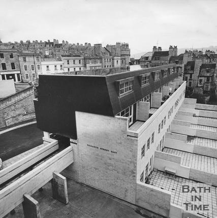 Ballance Street Flats, March 1972