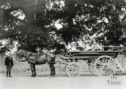 Horse Drawn passenger cart c.1880