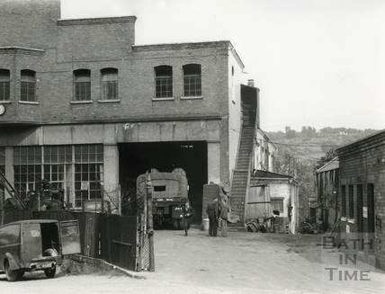 The Tramshed, Walcot Street, 1950
