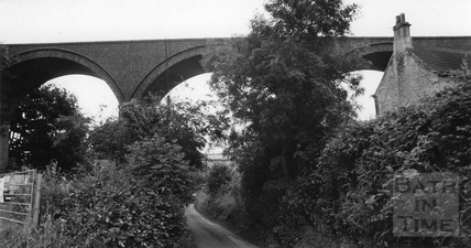 Dunkerton Viaduct 1981
