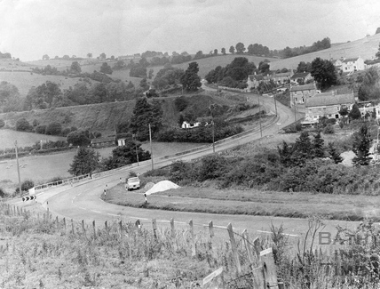 View of Dunkerton Hill c.1968