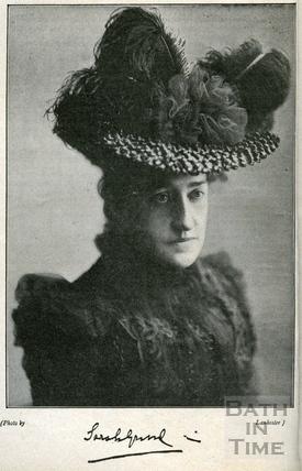 Madame Sarah Grand c.1900