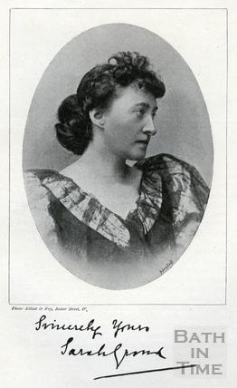 Madame Sarah Grand c.1896