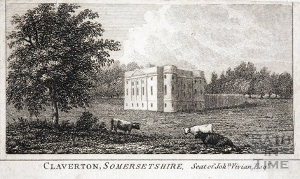 Claverton House, Somersetshire c.1840