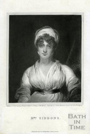 Mrs. Sarah Siddons pub 1826