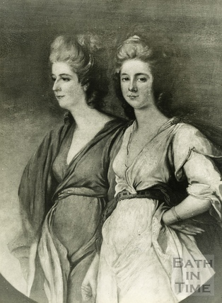 The Waldegrave sisters by Ozias Humphrey R.A. 1788