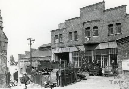 Ex tram shed, Walcot street c.1946