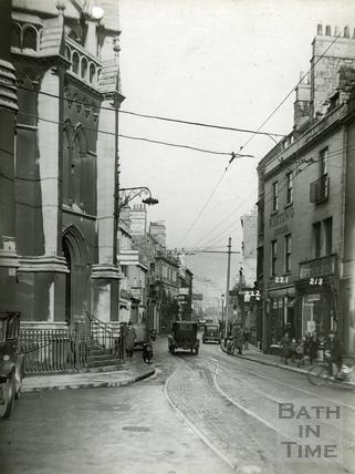 Walcot Street, looking north c.1930s