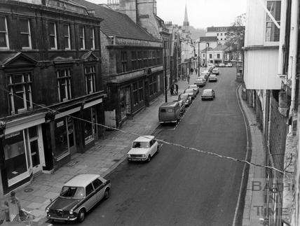 Walcot Street, looking south, 10 May 1978
