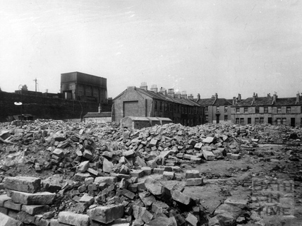 Sydenham Place air raid damage April 1942