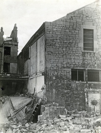 Hughes Store, 10 Newark Street April 1942