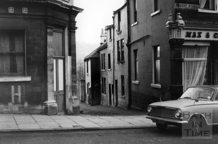 George's Buildings, Walcot Street 1966