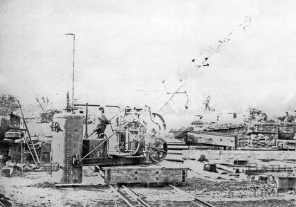 Stothert & Pitt steam crane 1867