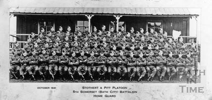 Stothert & Pitt Platoon, October 1941