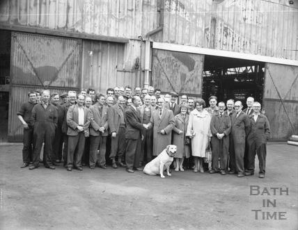 Stothert & Pitt retirement ceremony c.1950s