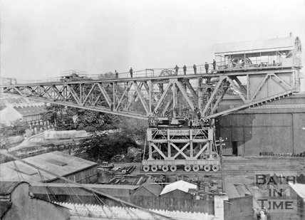 Stothert & Pitt Titan crane, no. 31 completed in 1914