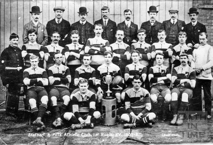 Stothert & Pitt Athletic Club, 1st Rugby XV 1907-8