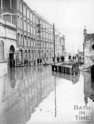 Stothert & Pitt flooding at Newark Works, March 13 1947