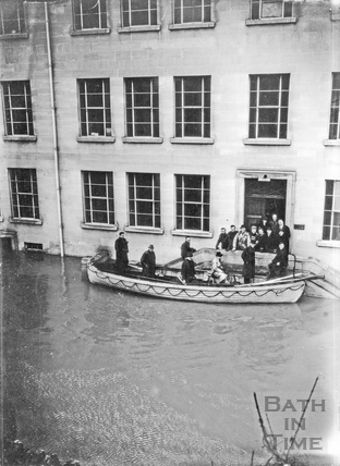 Stothert & Pitt flooding at Newark Works, March 14 1947