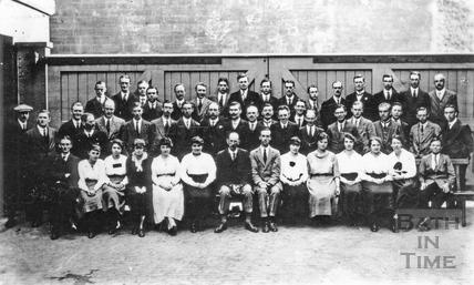 Stothert & Pitt drawing office staff 4 June 1920