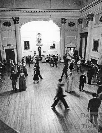 Dancing inside the Pump Room c.1960s