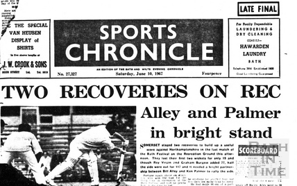 Sports Chronicle June 10 1967