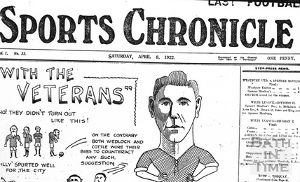 Sports Chronicle, Sat April 8 1922