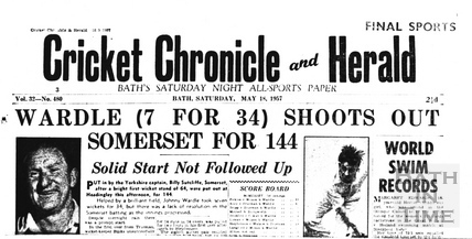 Cricket Chronicle and Herald, May 18 1957