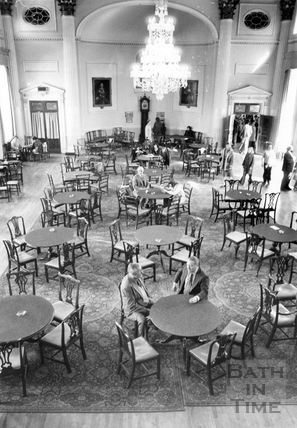 Inside the Pump Room 3 April 1978