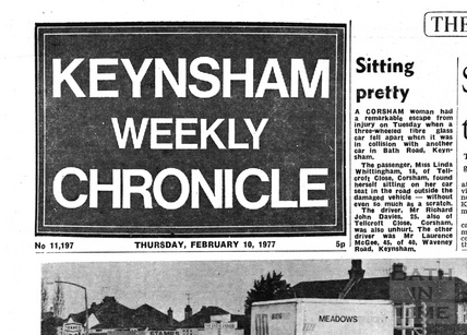 Keynsham Weekly Chronicle, Feb 10 1977