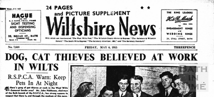 Wiltshire News May 6 1955