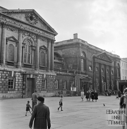 A view of the Pump Room c.1960s