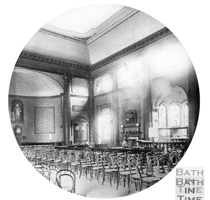 An early view inside the Pump Room c.1900