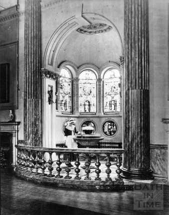 The Pump Room Fountain c.1920s