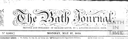 The Bath Journal, May 17 1819