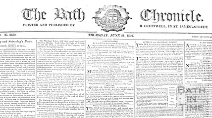 The Bath Chronicle June 21 1827