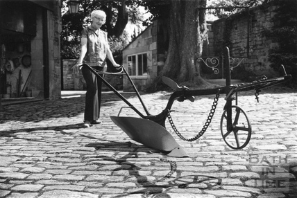A plough from the Batheaston Museum 10 June 1974