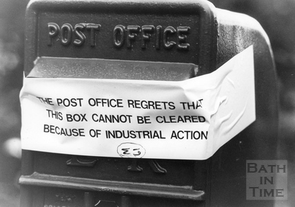 Bath Postal Strike 31 August 1988