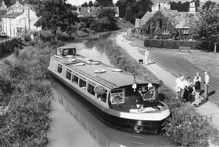 The Floating Post Office, Bathampton 1993