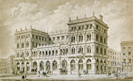 Alternative design for the Grand Pump Room Hotel c.1895