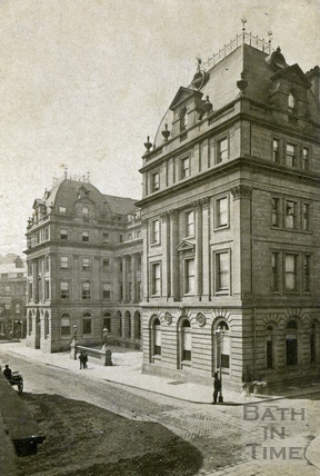 The Grand Pump Room Hotel, Bath c.1870