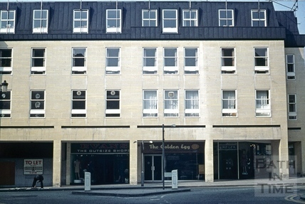 The Harvey Block, High Street, Bath 1966