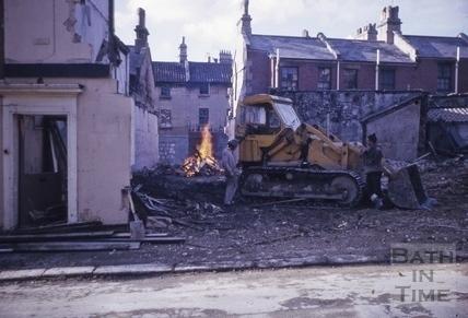 Demolition contractors February 1972
