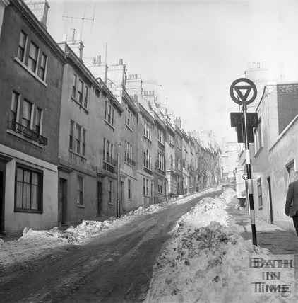 Ballance Street in winter 16 Jan 1963