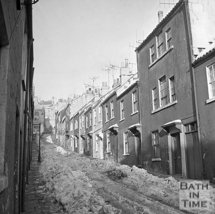 Ballance Street in winter 16 Jan 1963