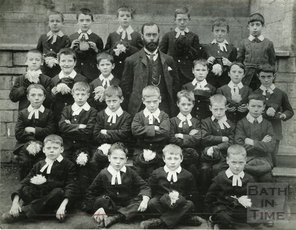 Bath Bluecoat School 1899